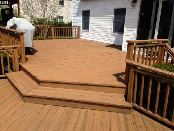 Wood Deck Sanding Bob Sidoti Floors